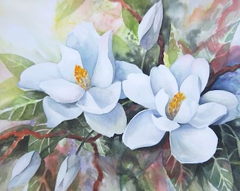 Magnolias 11x14 Print