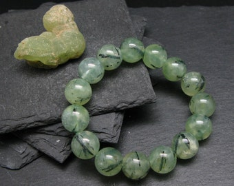 Prehnite Cabochon Natural Canadian Gemstone Apple Green Healing Crystal Jewelry Making Wholesale  Supplies # 16797