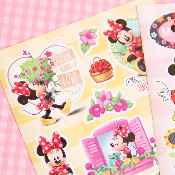 Disney Mickey Minnie Mouse Paper Tape Craft Photo Scrapbooking Gift Cute Diary
