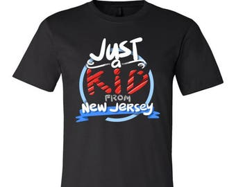 Just a Kid from New Jersey American U.S States T-Shirt