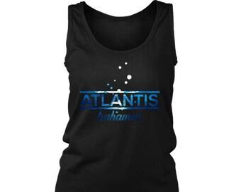 Bahamas Atlantis, Beach, Sea and Sun Shirt Underwater Women's Tank Top