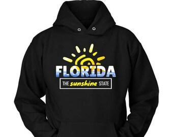 Florida, Sunshine State, Tropical American Hoodie