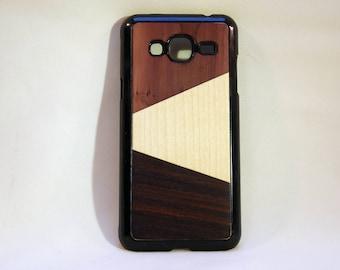 Case Samsung J3 (2016) natural wood inlay