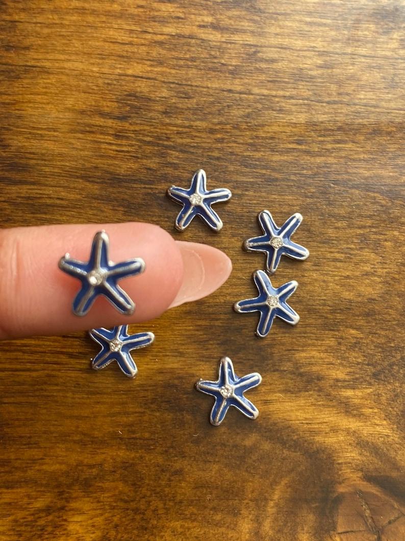 1 Starfish Charms For Memory Lockets