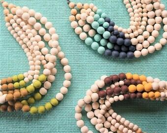 Layered Bohemian Beads