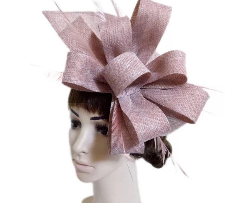 Wedding Hat Bridal Hat Kentucky Derby Hat Ivory Fascinator Hat Church Hat Crownjewell Race Hat Tea Party Hat
