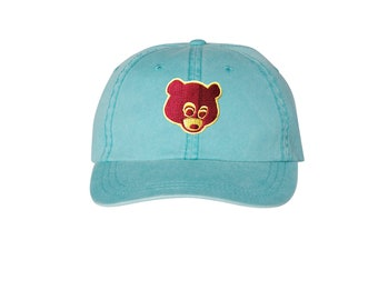 67c9a078342aa Washed teal- College Dropout Bear