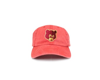Washed red - College Dropout Bear  ec5bfc9b179