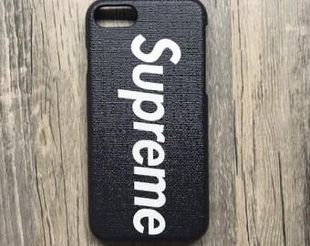 designer fashion 98a34 bb744 Supreme phone case | Etsy