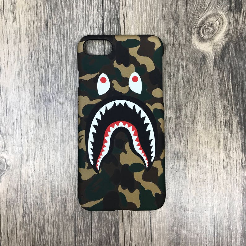 bape phone case iphone 8 plus