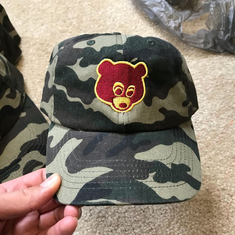 e8eb431939bf2 Camo College Dropout Bear Yeezy Yeezus Kanye