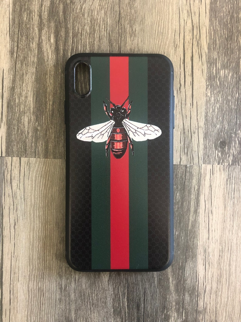 Bumble Bee Black Strip TPU Custom Phone Case Apple iPhone 6 6s plus 7 7  plus 8 Plus iphone x xs xr max10 X inspired snake gucci inspired