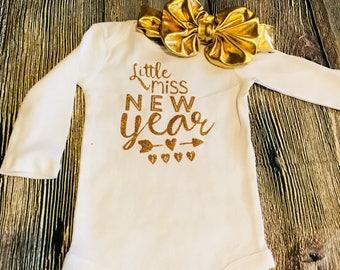 Girls New Year set, girls new year shirt,girls new year, new year shirt, baby girl new year, baby new year, girls shirt