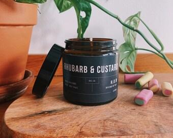 rhubarb and custard owl melts