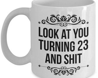 23rd Birthday Mug Gift 23 Year Old Gifts Happy Bday Present