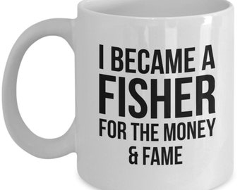 Fisher Gift, Fisher Mug, Gift For Fisher, Funny Fisher, Fishing Mug, Fishing Gift, Grandpa Mug, Grandpa Fishing, Fisherman Mug, Fisher