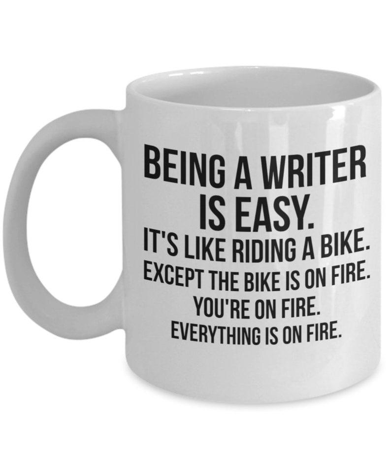 Writer Mug Writer Gift Gift For Writer Author Gifts Author image 0