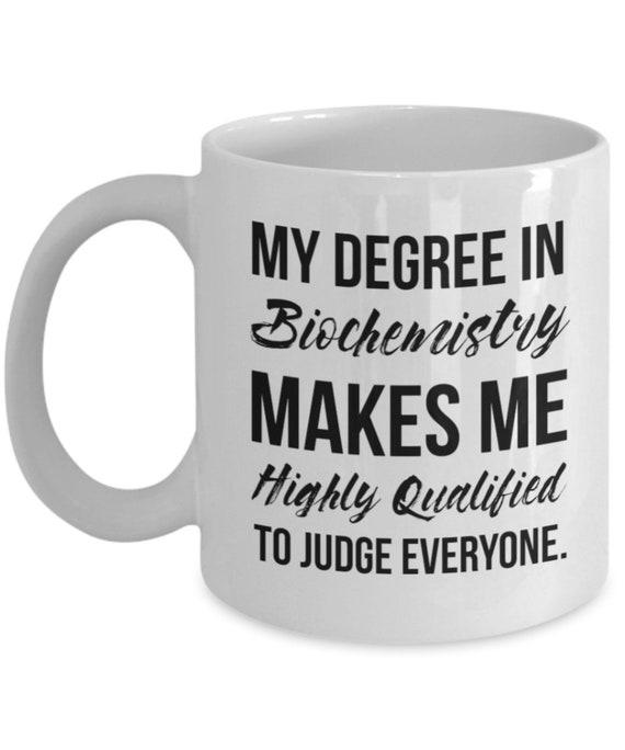 Biochemistry Gift Biochemistry Mug Biochemist Mug | Etsy