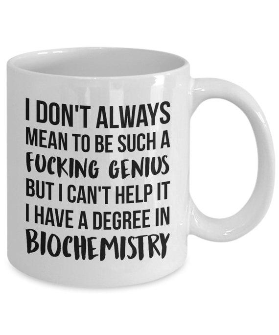 Biochemistry Mug Biochemistry Gift Biochemistry Graduation | Etsy