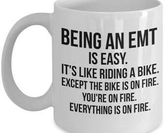 EMT Gift, EMT Mug, Paramedic Mug, Paramedic Gift, Gift For Paramedic, Funny Paramedic, Paramedic Graduation Gift, Personalized Paramedic