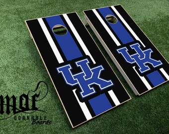 "Set Of 2 11.5/"" University Of Kentucky Vinyl Decal For CornHole Boards"