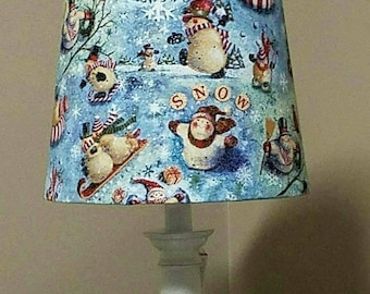 Snowman lamp etsy popular items for snowman lamp greentooth Gallery