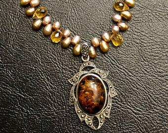 Amber Dreams Necklace