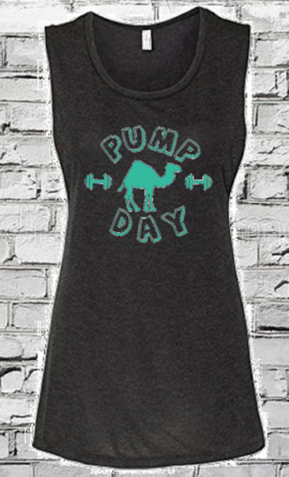 ad71608c Pump Day Gym TankLadies tank/Muscle T/Crop Top/Hump | Etsy