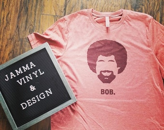 Bob Ross Sublimation Tee