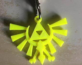3D Printed Hyrule Keychain