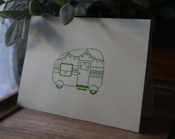 Camper - single card