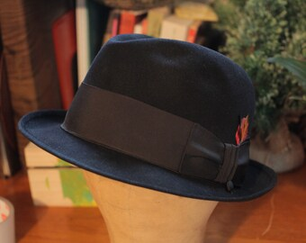 4e52f9e4752 Vintage Dobbs Hat   Formal Hat   Fedora   Fifth Avenue   Mens Hat