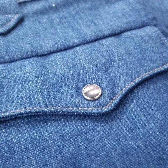 Vintage 1970's Lee Western Suit Pants / 41 x 28 /… - image 9