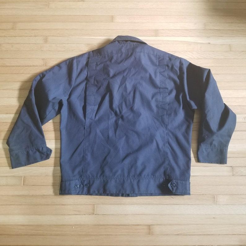 Vintage Flexbac Men/'s Work Coat  Mechanics Coat  Size 40 Medium  Navy Blue Chore Jacket Uniform