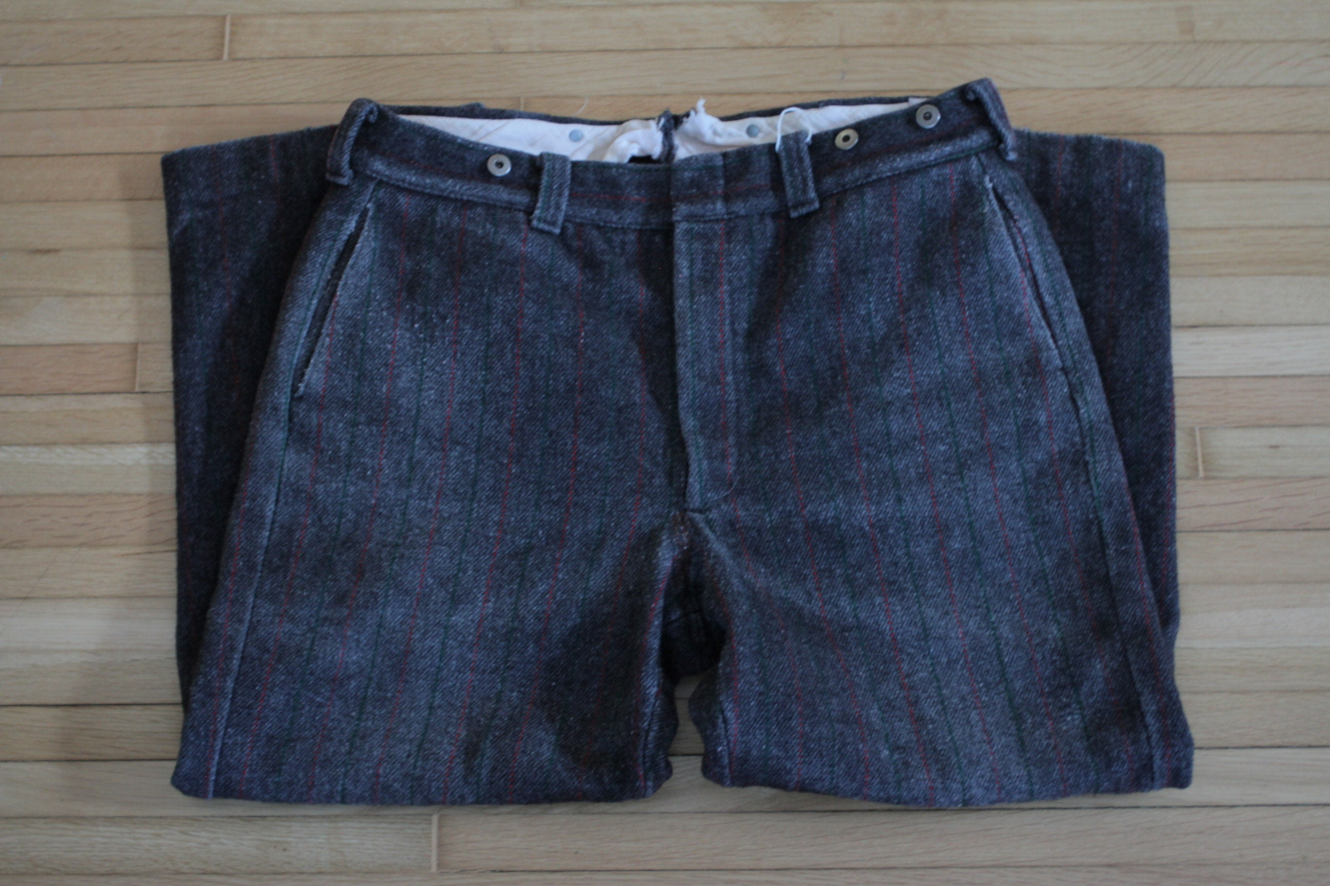 66385138aab0d Vintage Woolrich Wool Hunting Pants / Size 38-40 / Mens Wool | Etsy