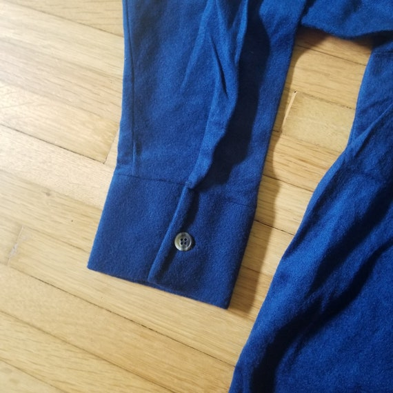 Vintage 1970's Sears Kings Road Velour Pullover S… - image 3