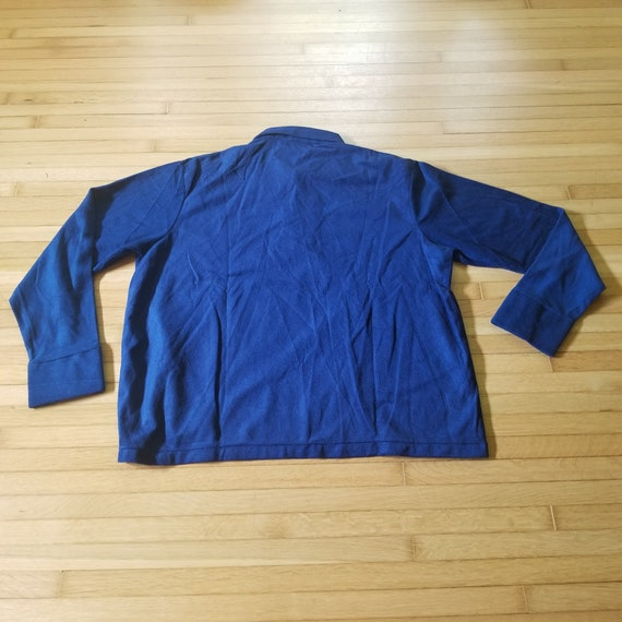 Vintage 1970's Sears Kings Road Velour Pullover S… - image 7