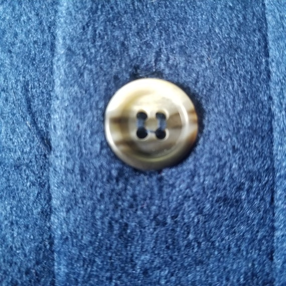 Vintage 1970's Sears Kings Road Velour Pullover S… - image 6