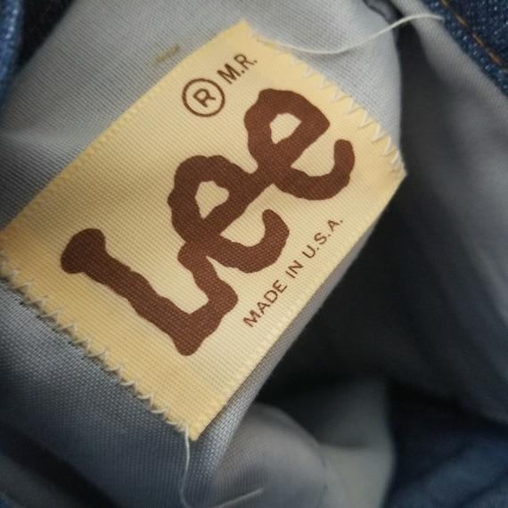 Vintage 1970's Lee Western Suit Pants / 41 x 28 /… - image 4