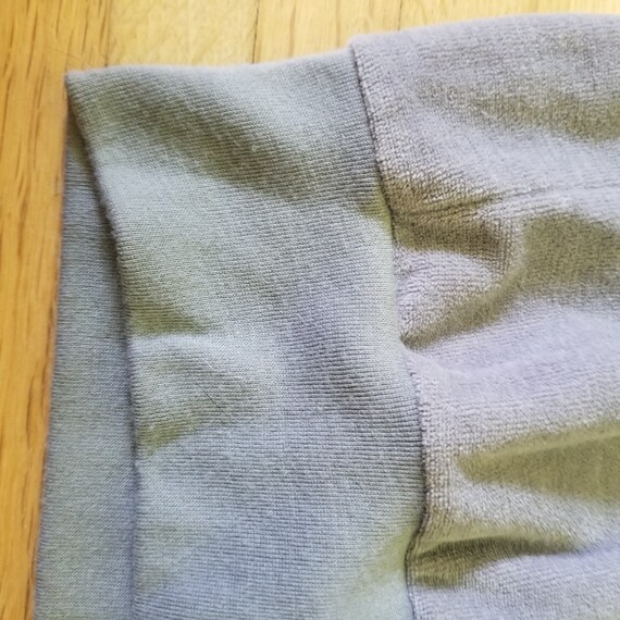 Vintage 1970's Sigallo Velour Style Pullover Swea… - image 5