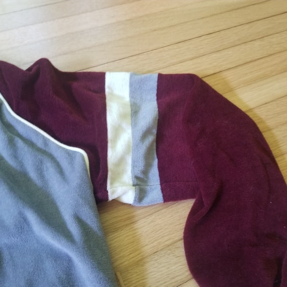Vintage 1970's Sigallo Velour Style Pullover Swea… - image 7