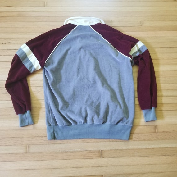 Vintage 1970's Sigallo Velour Style Pullover Swea… - image 8