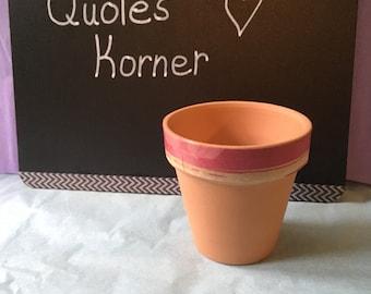 Mini Decorative Flower Pot