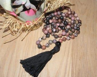 Hand knotted 108 Mala Beads