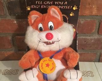 90's Stray Cat Stuffed Animal