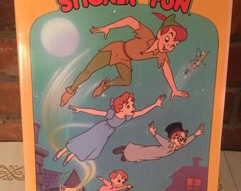 Peter Pan Sticker Book FREE SHIPPING
