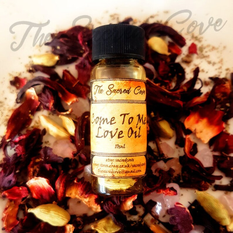 Come To Me Oil   Ritual Oil - Hoodoo - Wicca - Witchcraft