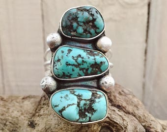 Turquoise Nuggets Ring
