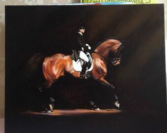 Paris Oil On Canvas Painting From Ukraine 40x50 cm