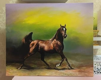 Paris Oil On Canvas Painting From Ukraine 60x50 cm